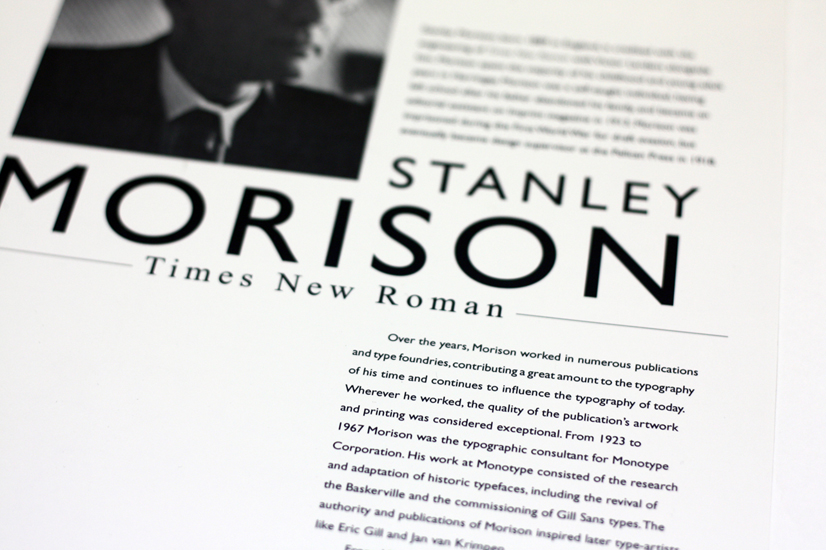 Stanley Poster Font Awesome Stanley Morison A Significance Typographer Times New Roman